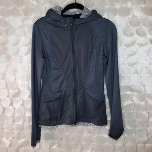 Lululemon Grey women's full zip hoodie